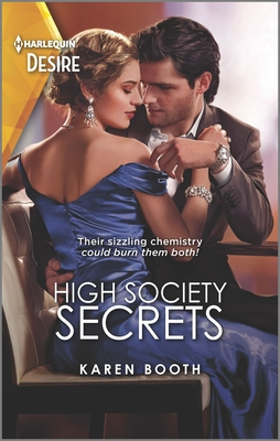 High Society Secrets: A Workplace, Single Dad Romance Cover Image
