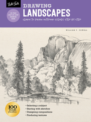 Drawing: Landscapes with William F. Powell: Learn to draw outdoor scenes step by step (How to Draw & Paint) Cover Image