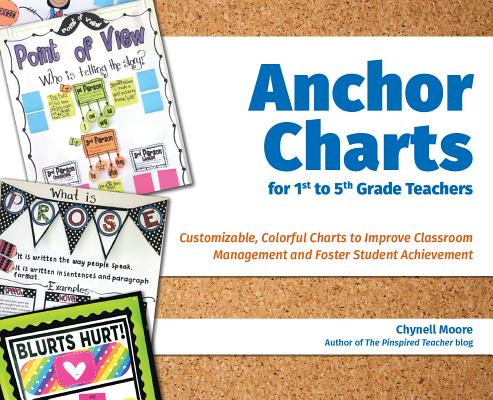 Cover for Anchor Charts for 1st to 5th Grade Teachers