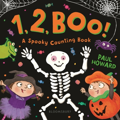 1, 2, BOO!: A Spooky Counting Book Cover Image