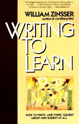 Writing to Learn Rc Cover Image