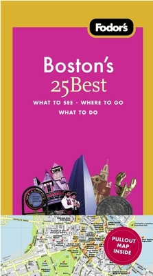 Fodor's Boston's 25 Best, 7th Edition Cover Image