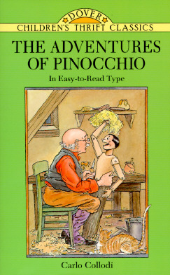 The Adventures of Pinocchio (Dover Children's Thrift Classics) Cover Image