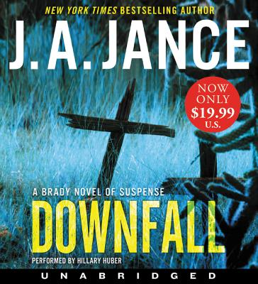 Downfall Low Price CD: A Brady Novel of Suspense Cover Image
