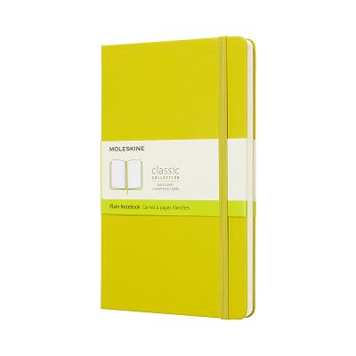Moleskine Classic Notebook, Large, Plain, Yellow Dandelion, Hard Cover (5 x 8.25) Cover Image