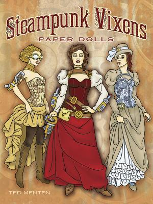 Steampunk Vixens Paper Dolls Cover Image