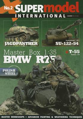 Jagdpanther and Su-122-54 (Super Model International #2) Cover Image