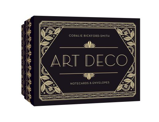 Art Deco Notecards & Envelopes Cover Image
