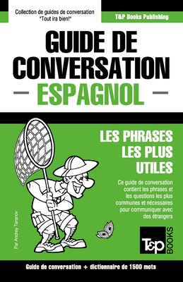 Guide de conversation Français-Espagnol et dictionnaire concis de 1500 mots (French Collection #106) Cover Image