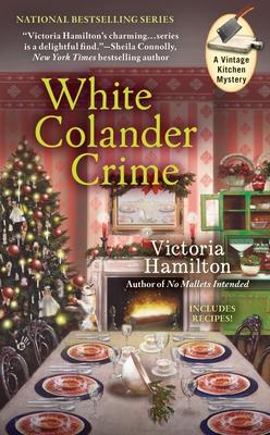White Colander Crime Cover