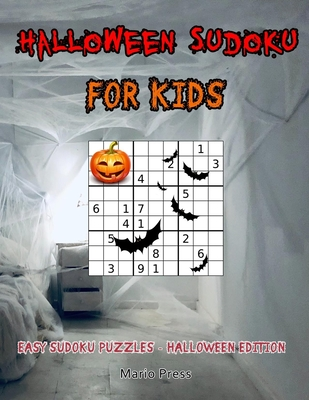 Halloween Sudoku For Kids: Halloween Sudoku For Kids Cover Image