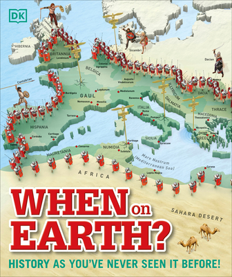 When on Earth?: History as You've Never Seen It Before! (Where on Earth?) Cover Image