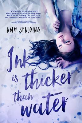 Cover for Ink is Thicker Than Water (Entangled Teen)