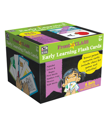 Early Learning Flash Cards, Ages 4 - 8 (Front of the Class) Cover Image