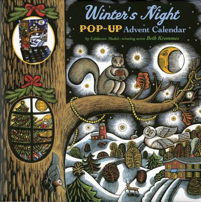 Winter's Night Pop-Up Advent Calendar Cover Image