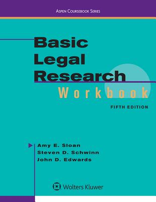 Basic Legal Research Workbook (Aspen Coursebook) Cover Image