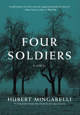 Book cover: Four Soldiers by Hubert Mingarelli
