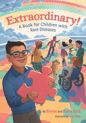 Cover for Extraordinary! A Book for Children with Rare Diseases