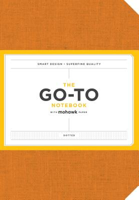 Go-To Notebook with Mohawk Paper, Persimmon Orange Dotted: (Dotted Notebooks, Notebooks with Dots, Orange Notebooks) Cover Image