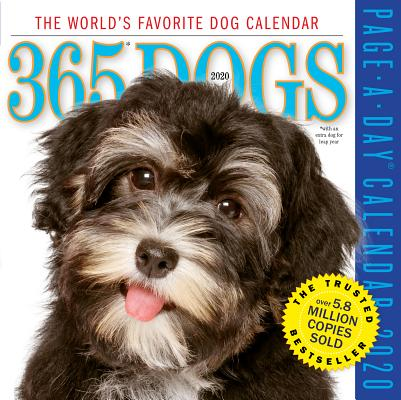 365 Dogs Page-A-Day Calendar 2020 Cover Image