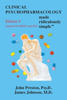 Clinical Psychopharmacolog Made Ridiculously Simple Cover Image