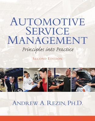 Automotive Service Management: Principles Into Practice (Automotive Comprehensive Books) Cover Image