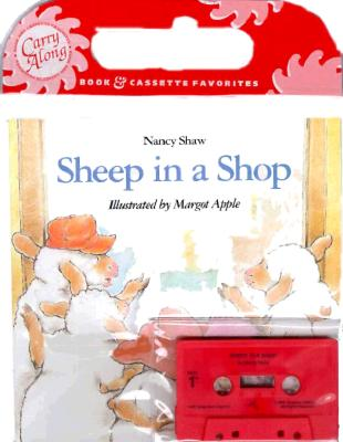 Sheep in a Shop Book & Cassette Cover Image
