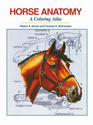 Horse Anatomy: A Coloring Atlas Cover Image