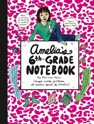 Amelia's 6th-Grade Notebook Cover