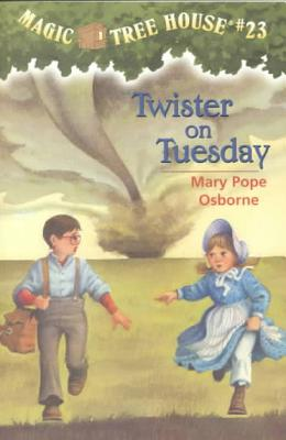 Twister on Tuesday (Magic Tree House #23) Cover Image
