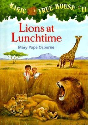 Lions at Lunchtime Cover Image