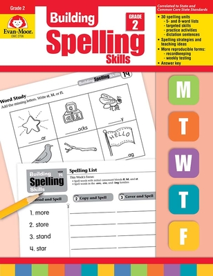 Building Spelling Skills Grade 2 Cover Image