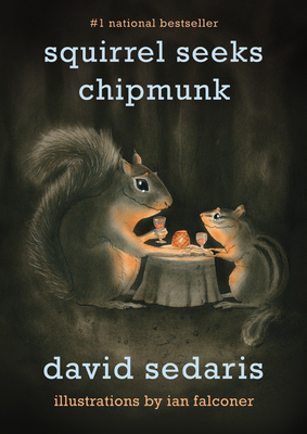 Squirrel Seeks Chipmunk Cover