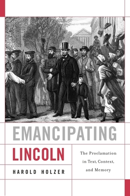 Emancipating Lincoln Cover