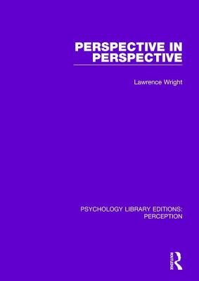 Perspective in Perspective (Psychology Library Editions: Perception) Cover Image