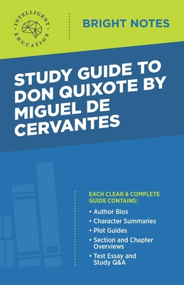 Study Guide to Don Quixote by Miguel de Cervantes Cover Image
