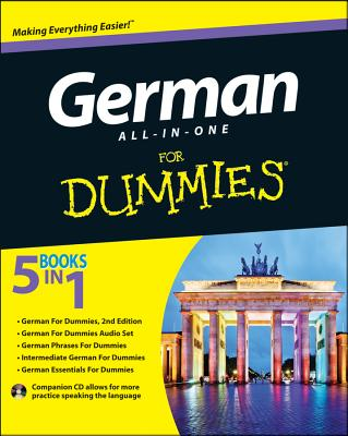 German All-In-One for Dummies [With CD (Audio)] Cover Image
