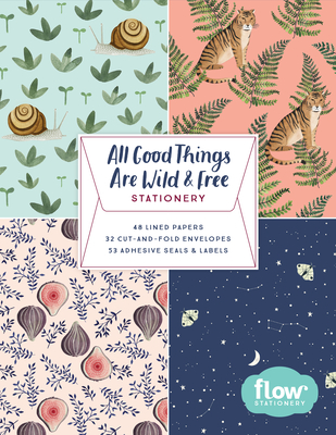 All Good Things Are Wild and Free Stationery (Flow) Cover Image