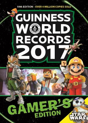 Guinness World Records 2017 Gamer's Edition Cover