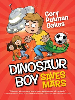 Dinosaur Boy Saves Mars Cover