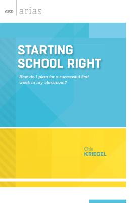 Starting School Right Cover