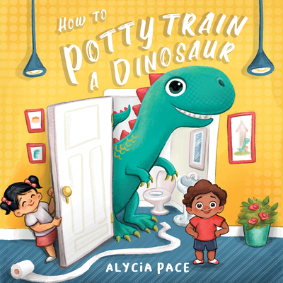 How to Potty Train a Dinosaur Cover Image