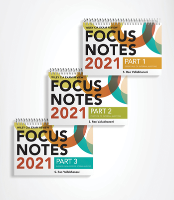 Wiley CIA Exam Review Focus Notes 2021: Complete Set Cover Image