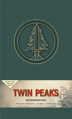 Twin Peaks The Bookhouse Boys Hardcover Ruled Journal (90's Classics) Cover Image