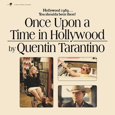 Cover for Once Upon a Time in Hollywood Lib/E