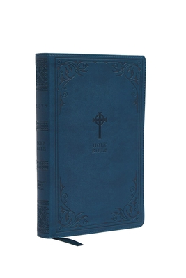 Nrsv, Catholic Bible, Gift Edition, Leathersoft, Teal, Comfort Print: Holy Bible Cover Image