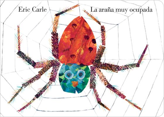 Cover for La araña muy ocupada