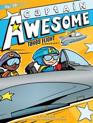 Captain Awesome Takes Flight Cover Image