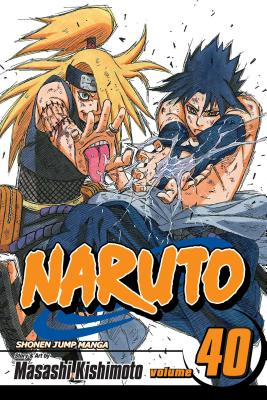Naruto, Vol. 40 cover image