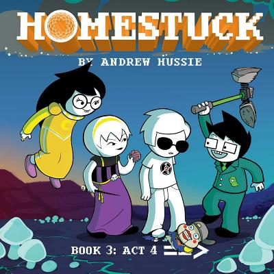 Homestuck, Book 3: Act 4 Cover Image